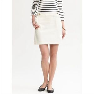 Banana Republic Mini Skirt Corduroy w/ Zip Closure